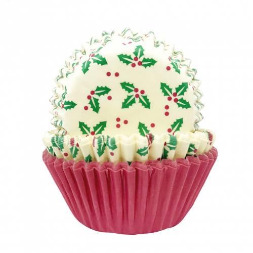 75 Caissettes à Cupcakes - Noël