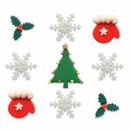 9 Décors de Noël en Sucre