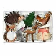 7 Emporte-pièces Animaux des Bois