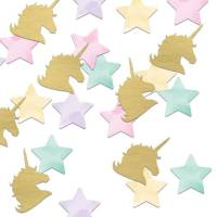 Contient : 1 x Confettis Unicorn Baby