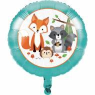 Ballon Gonflé à l'Hélium - Animaux des Bois