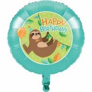 Ballon Gonflé à l'Hélium Paresseux Party
