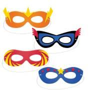 4 Masques Super Héros
