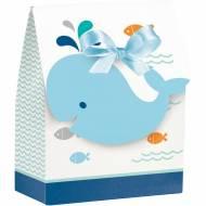 12 Boîtes Cadeaux Baleine Bleue