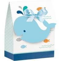 Contient : 1 x 12 Boîtes Cadeaux Baleine Bleue