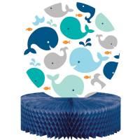 Contient : 1 x Centre de table Baleine Bleue