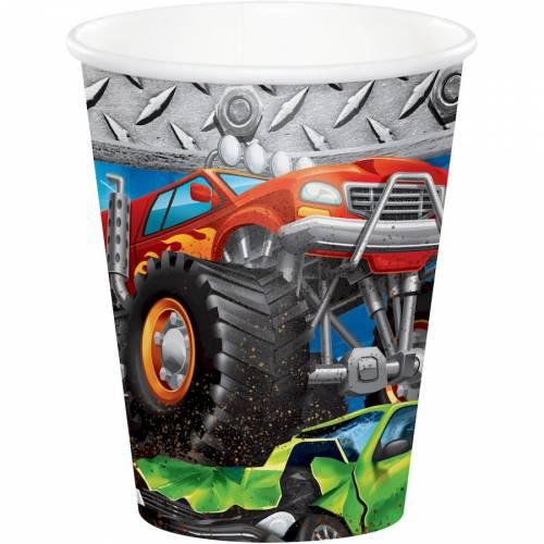 8 Gobelets Monster Truck Rally