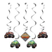 5 Guirlandes Spirales Monster Truck Rally