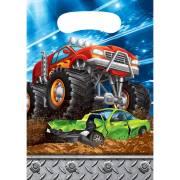8 Pochettes Cadeaux Monster Truck Rally
