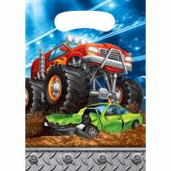 8 Pochettes Cadeaux Monster Truck Rally