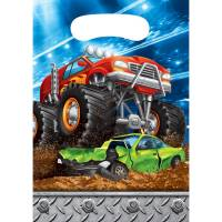 Contient : 1 x 8 Pochettes Cadeaux Monster Truck Rally