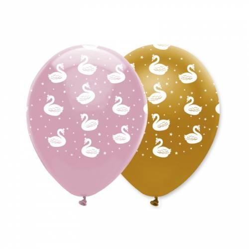 6 Ballons Cygnes