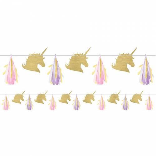 Guirlande Tassel Lettre Unicorn Baby