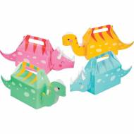 4 Boîtes Dino Girl