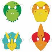 4 Masques Dino