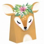 8 Boîtes Cadeaux Faon Floral