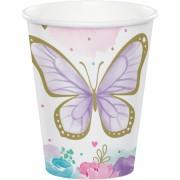 8 Gobelets Papillon