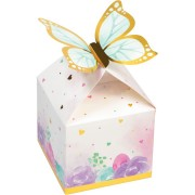 8 Boîtes Cadeaux Papillon