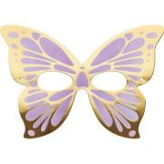 8 Masques Papillon - Carton