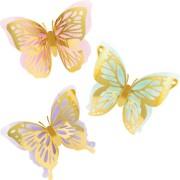 3 Décors Papillon