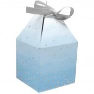 8 Boîtes Cadeaux Bleu