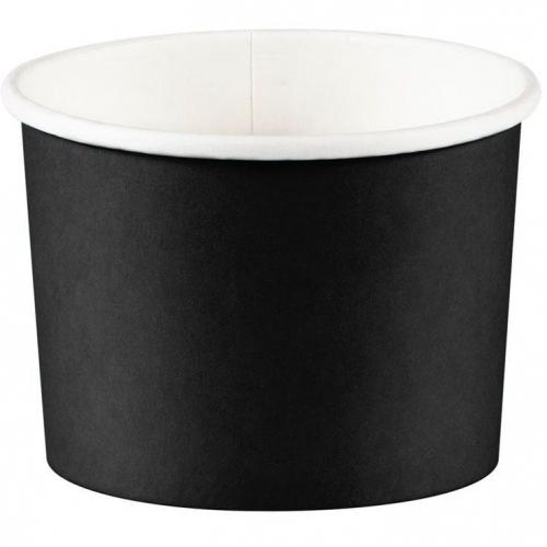 8 Pots à bonbons Noir