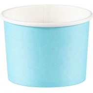 8 Pots à bonbons Bleu Ciel