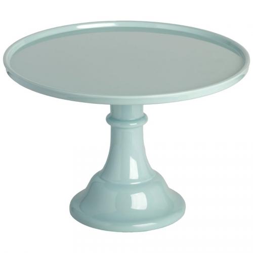 Présentoir à Gâteau Bleu Vintage - 30 cm