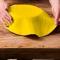 FunCakes Pâte à Sucre Étalée Jaune - 430g images:#1