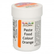FunCakes Pâte Colorante Alimentaire FunColours - Orange 30g