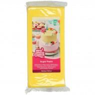 FunCakes Pâte à Sucre Jaune - 1kg