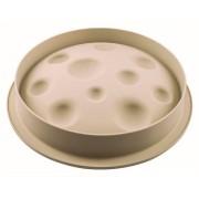 Moule 3D Lune Silicone - Ø 22 cm