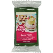 FunCakes Pâte à Sucre Vert Sapin - 250g