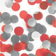 Confettis Mix 15g - Rouge/Blanc/Argent