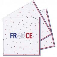 16 Serviettes France