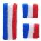 Lot de 2 Manchettes + 1 Serre Tête France images:#0