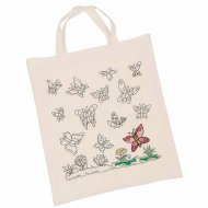 Grand Sac Personnalisable Pr�-imprim� Papillon