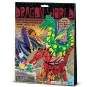 Kit Cr�ation et Peinture Dragons