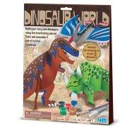 Kit Cr�ation et Peinture Dinosaures