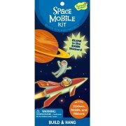 Kit Créatif Mobile Planète et Stickers Espace phosphorescents