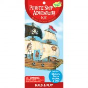 Kit Créatif Bateau Pirate avec Stickers