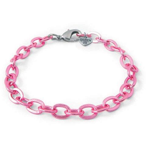Bracelet à Maillons Charm it - Métal Rose