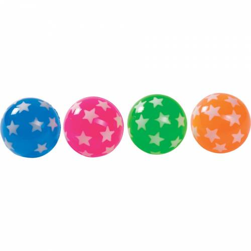 1 Balle rebondissante Etoile Pop (4 cm)