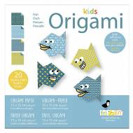 Kids Origami Poisson