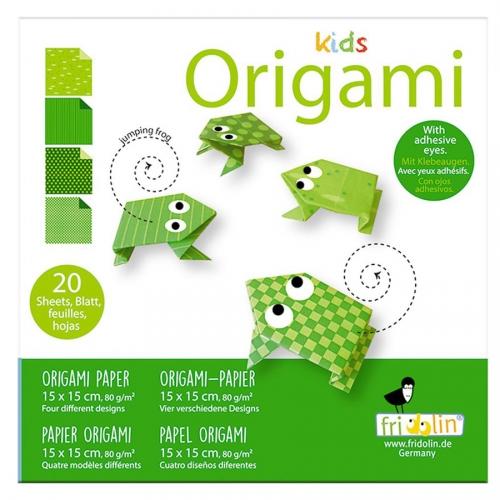 Kids Origami Grenouille