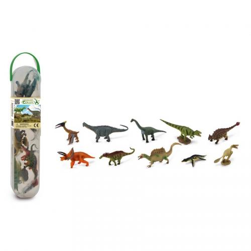10 Mini Figurines Dinosaures
