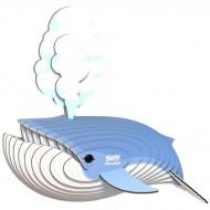Kit Figurine Baleine Bleue 3D à assembler - Eugy