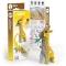 Kit Figurine Girafe 3D à assembler - Eugy images:#2