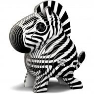 Kit Figurine Zèbre 3D à assembler - Eugy