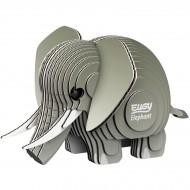 Kit Figurine Elephant 3D à assembler - Eugy